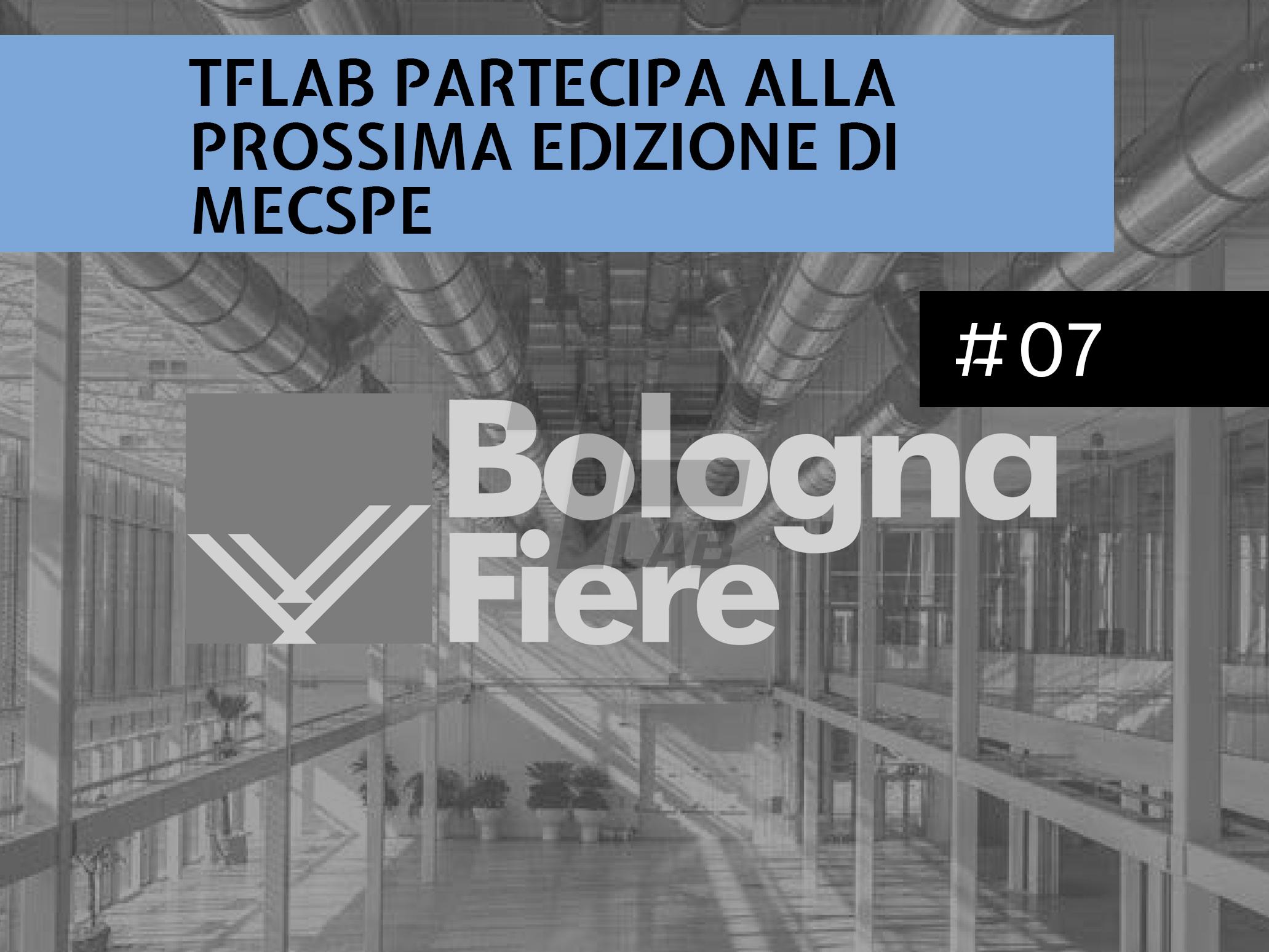 TFLab partecipa alla prossima edizione di MECSPE